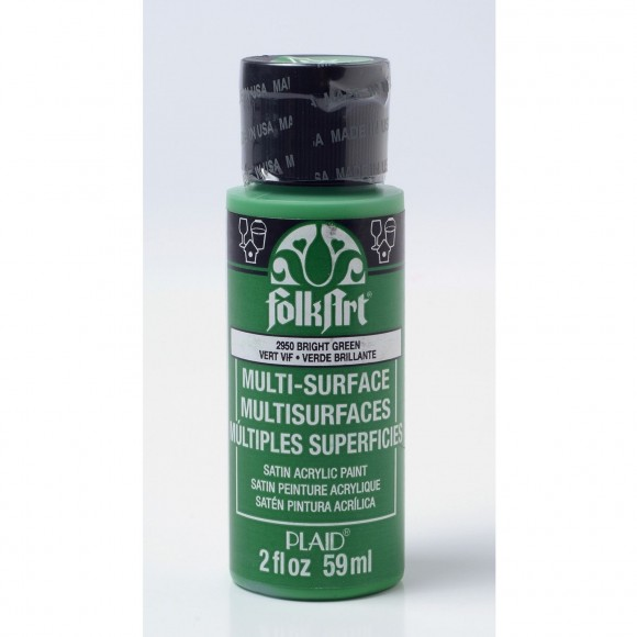 FolkArt • Multi-Surface 2950 bright green 59ml