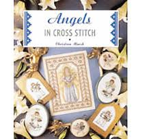 Angels in cross stitch