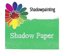 Shadow paint papier