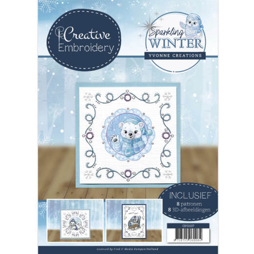 Creative Embroidery CD10007 Sparkling Winter