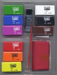Fimo soft Basic set 1 8 kleuren a 25 gram