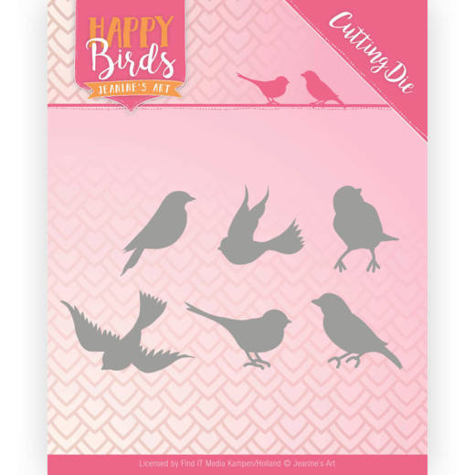 Die Jeanine's Art Happy Birds JAD 10090