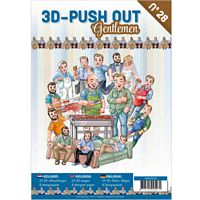 3D Push out Book 28 Gentlemen