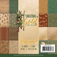 Amy Design ADPP10027 Christmas in Gold
