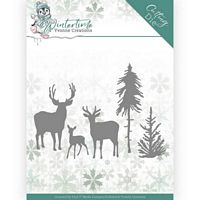 Die Yvonne creations YCD10217 Deer in the Forest