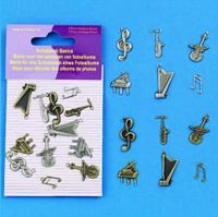 Scrapbook Fun Embellishments 11810-1007 Muziek