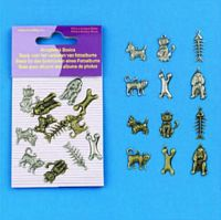 Scrapbook Fun Embellishments 11810-1009 Hond/Kat