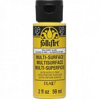 FolkArt • Multi-Surface 2384 honey glaze 59ml