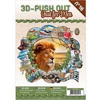 3D Push out Book 16 Just for Men