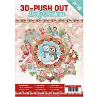 3D Push out Book 19 Lovely Christmas
