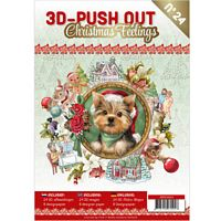 3D Push out Book 24 Christmas Feelings