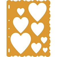 Shape Template 4855 Hearts