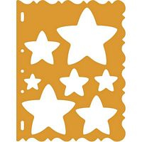 Shape Template 4856 Stars