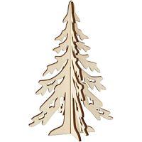Houten Figuur Kerstbomen 2 Delig Hobby Bijkerk Uw Hobbywinkel