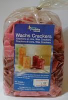 Wachs Crackers rood