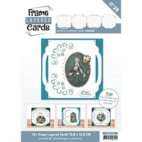 Frame layered Cards Boek LC4K10029