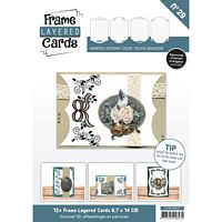 Frame layered Cards boek LCA610029