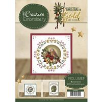 Creative Embroidery CD10003 Christmas in Gold