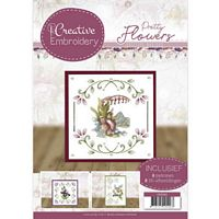 Creative Embroidery CD10020 Pretty Flowers