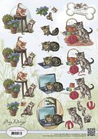 CD10453 Animal medley Katten