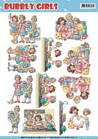 Yvonne Creations CD11216 Bubbly Girls Round the house