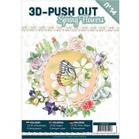 3D Push out Book 14 Spring Flowers