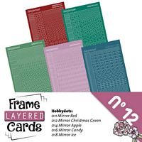 Frame layered Cards boek LCA610012 stickerset