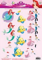 Studiolight STAPPF014 Disney Princess Fantasy