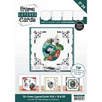 Frame layered Cards Boek LC4K10024