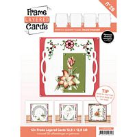 Frame layered Cards Boek LC4K10026