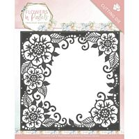 Precious Marieke Snijmal PM10134 Flower in Pastels Floral Frame