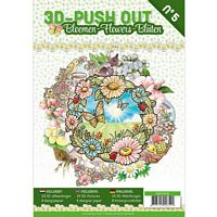 3D Push out Book 05 Bloemen
