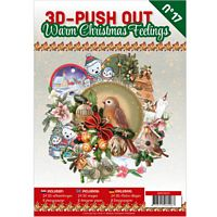 3D Push out Book 17 Warm Christmas Feelings