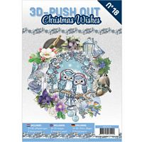 3D Push out Book 18 Christmas Wishes